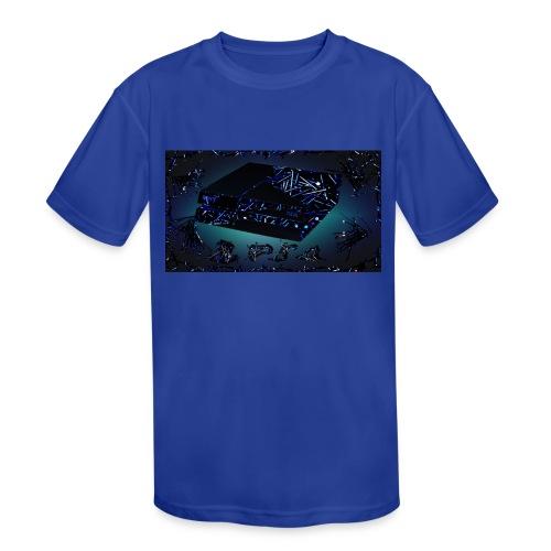 ps4 back grownd - Kids' Moisture Wicking Performance T-Shirt