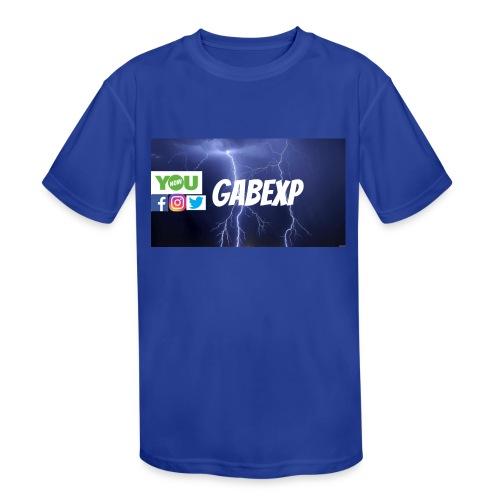 gabexp 1 - Kids' Moisture Wicking Performance T-Shirt