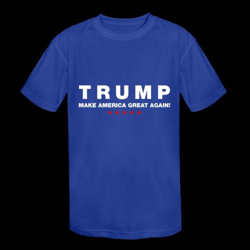 Official Trump 2016 - Kids' Moisture Wicking Performance T-Shirt
