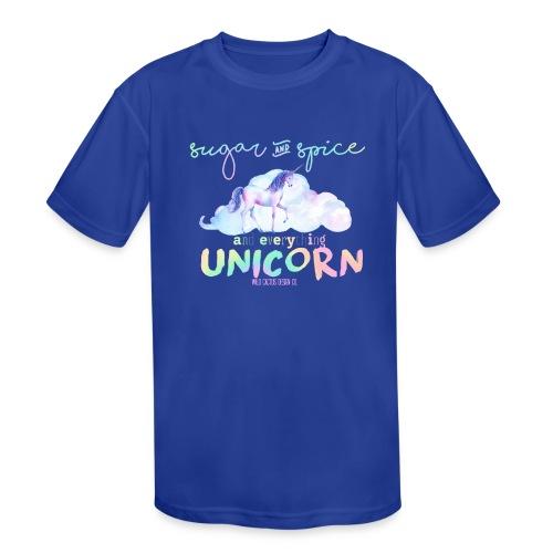 KIDS Everything Unicorn Shirt - Kids' Moisture Wicking Performance T-Shirt