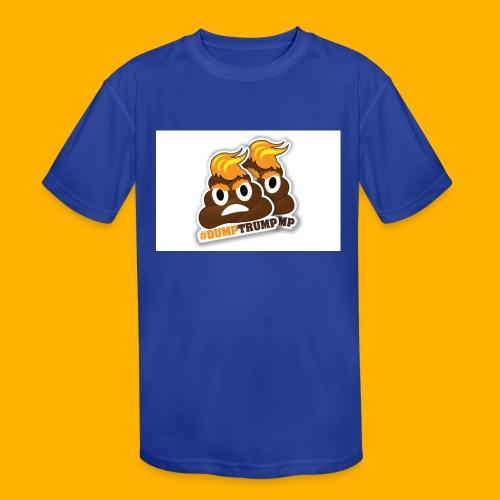dumpTrump - Kids' Moisture Wicking Performance T-Shirt