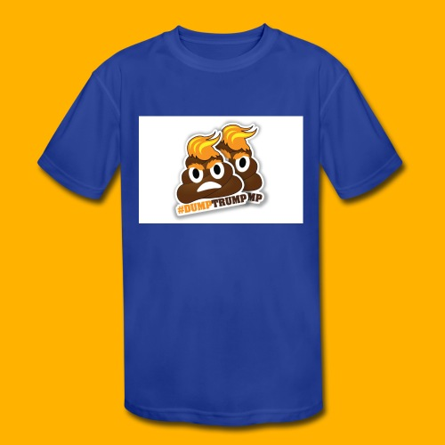 dumpTrump - Kid's Moisture Wicking Performance T-Shirt