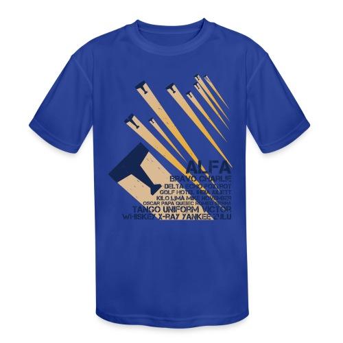 International Phonetic Alphabet - Kids' Moisture Wicking Performance T-Shirt