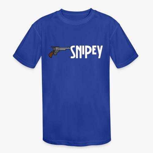 Snipey - Kids' Moisture Wicking Performance T-Shirt