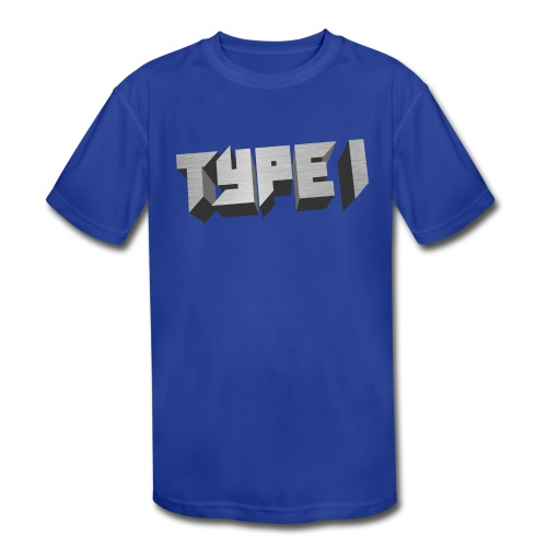 TYPE 1 - Kids' Moisture Wicking Performance T-Shirt