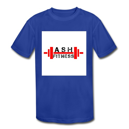 ASH FITNESS MUSCLE ACCESSORIES - Kids' Moisture Wicking Performance T-Shirt