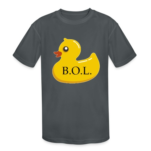 Official B.O.L. Ducky Duck Logo - Kids' Moisture Wicking Performance T-Shirt