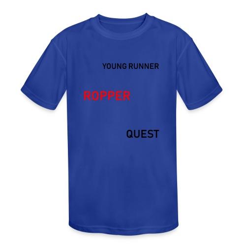 Ropper - Kid's Moisture Wicking Performance T-Shirt
