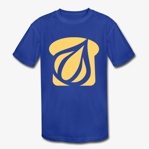 Garlic Toast - Kids' Moisture Wicking Performance T-Shirt