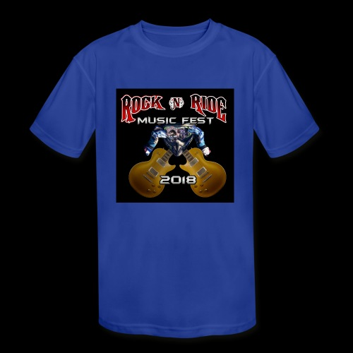 RocknRide Design - Kids' Moisture Wicking Performance T-Shirt