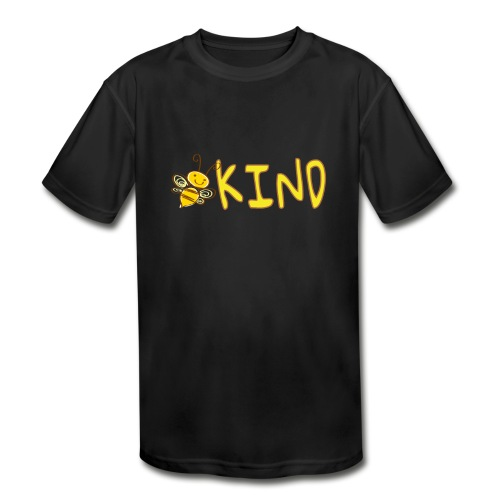 Be Kind - Adorable bumble bee kind design - Kids' Moisture Wicking Performance T-Shirt