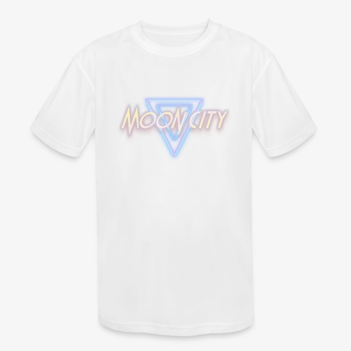 Moon City Logo - Kids' Moisture Wicking Performance T-Shirt