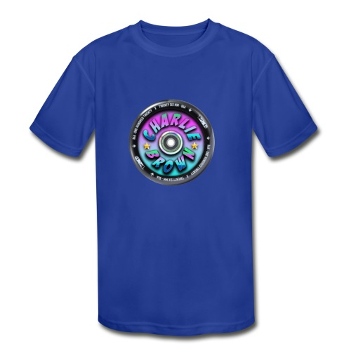 Charlie Brown Logo - Kids' Moisture Wicking Performance T-Shirt