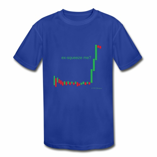 ex-squeeze me? - Kids' Moisture Wicking Performance T-Shirt