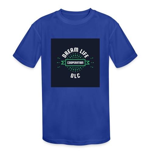 Dream Life Cooperation - Kids' Moisture Wicking Performance T-Shirt