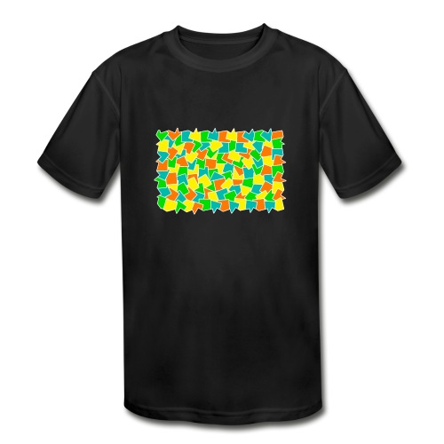 Dynamic movement - Kids' Moisture Wicking Performance T-Shirt