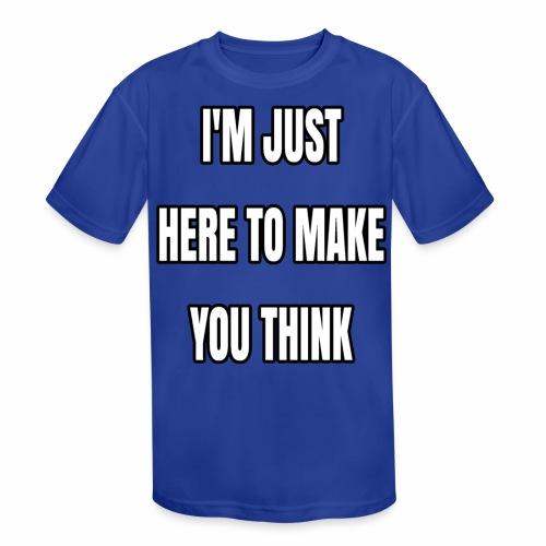 IJHTMYT (White Font) - Kids' Moisture Wicking Performance T-Shirt
