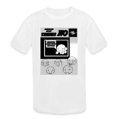 BRIGHTER SIGHT NEWS NETWORK - Kids' Moisture Wicking Performance T-Shirt