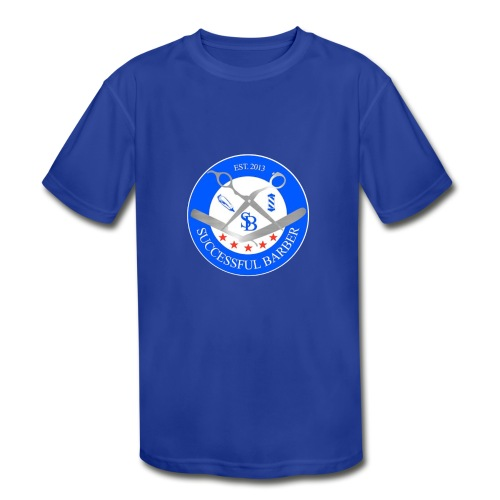Successful Barber Seal - Kids' Moisture Wicking Performance T-Shirt