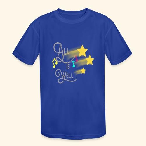 greyalliswell - Kids' Moisture Wicking Performance T-Shirt