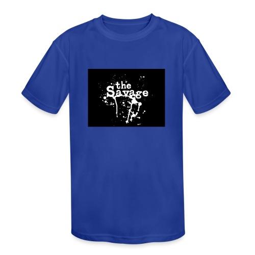 the savage - Kids' Moisture Wicking Performance T-Shirt