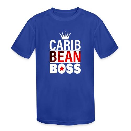 Caribbean Boss - Kids' Moisture Wicking Performance T-Shirt