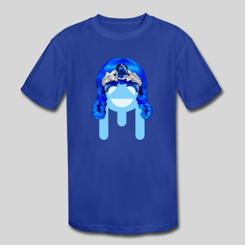 ALIENS WITH WIGS - #TeamMu - Kid's Moisture Wicking Performance T-Shirt