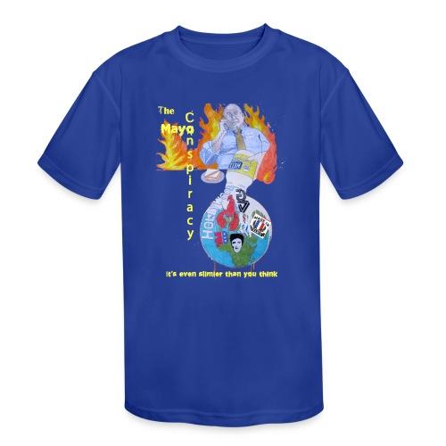 Mayo-Conspiracy - Kids' Moisture Wicking Performance T-Shirt
