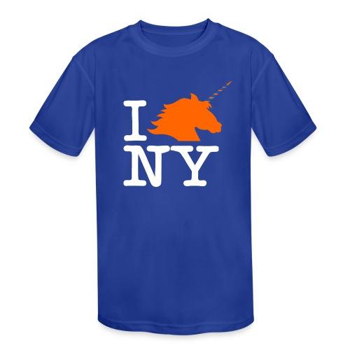 I Unicorn New York (Kristaps Porzingis) - Kids' Moisture Wicking Performance T-Shirt