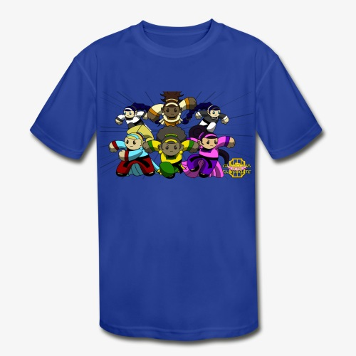 The Guardians of the Cloudgate w/ Logo - Kids' Moisture Wicking Performance T-Shirt