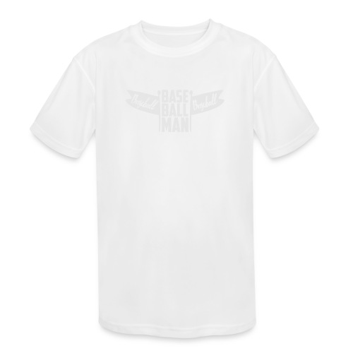 Baseball Man - Kids' Moisture Wicking Performance T-Shirt