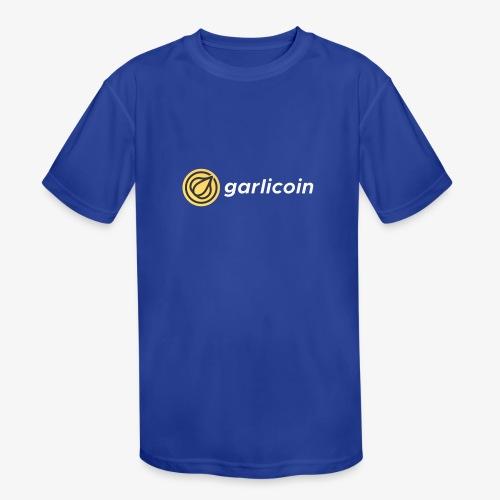 Garlicoin - Kids' Moisture Wicking Performance T-Shirt