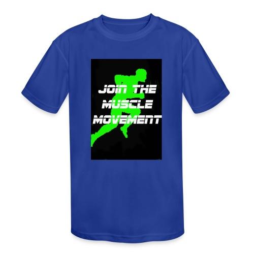 muscle movement - Kids' Moisture Wicking Performance T-Shirt