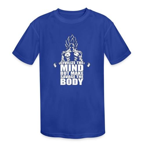 Dbz C Shirt - Kids' Moisture Wicking Performance T-Shirt