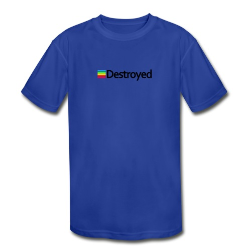 Polaroid Destroyed - Kids' Moisture Wicking Performance T-Shirt