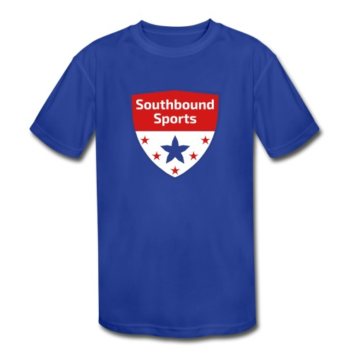 Southbound Sports Crest Logo - Kids' Moisture Wicking Performance T-Shirt