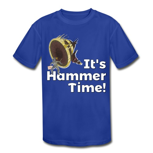 It's Hammer Time - Ban Hammer Variant - Kids' Moisture Wicking Performance T-Shirt