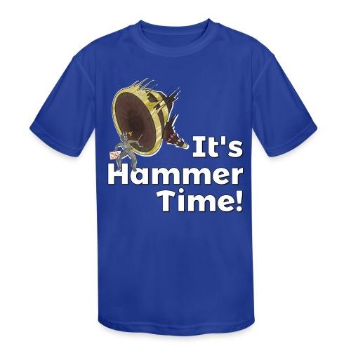 It's Hammer Time - Ban Hammer Variant - Kids' Moisture Wicking Performance T-Shirt