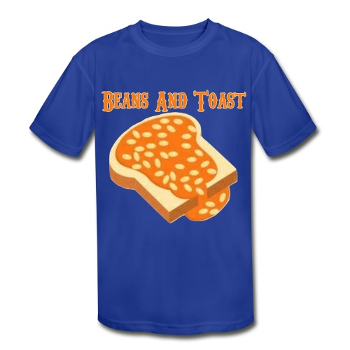 Beans And Toast - Kid's Moisture Wicking Performance T-Shirt