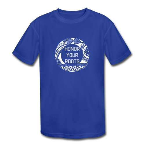 Honor Your Roots (White) - Kids' Moisture Wicking Performance T-Shirt