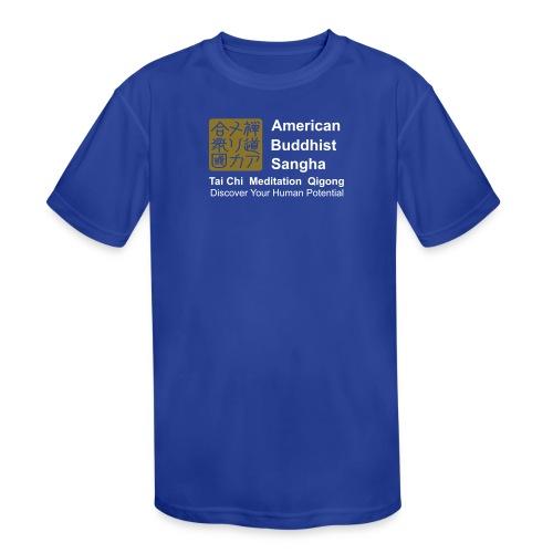 American Buddhist Sangha / Zen Do USA - Kid's Moisture Wicking Performance T-Shirt