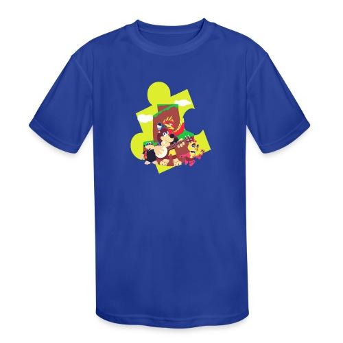 banjo - Kids' Moisture Wicking Performance T-Shirt