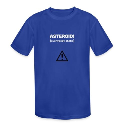 Spaceteam Asteroid! - Kids' Moisture Wicking Performance T-Shirt