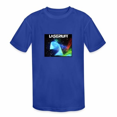 LASERIUM Laser spiral - Kids' Moisture Wicking Performance T-Shirt