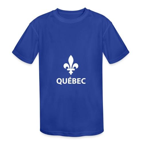Québec - Kids' Moisture Wicking Performance T-Shirt