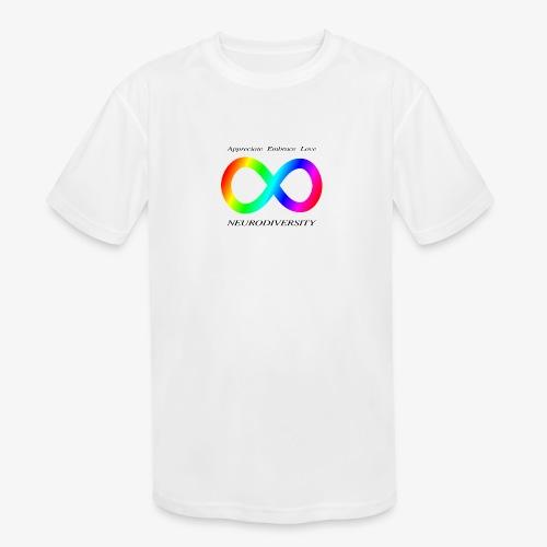 Embrace Neurodiversity - Kids' Moisture Wicking Performance T-Shirt