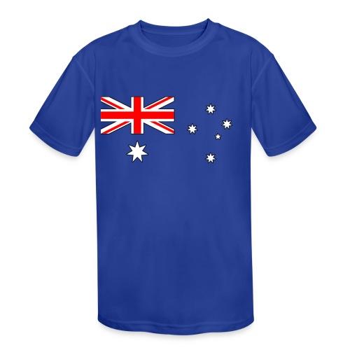 australia - Kids' Moisture Wicking Performance T-Shirt
