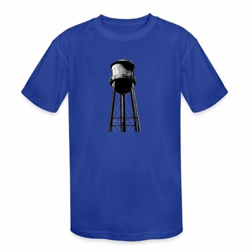 Water Tower - Kids' Moisture Wicking Performance T-Shirt