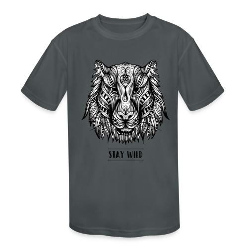 Stay Wild - Kids' Moisture Wicking Performance T-Shirt