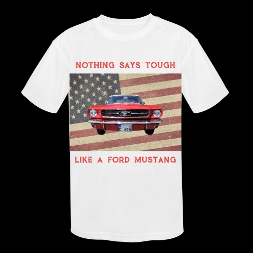 Mustang Tough - Kids' Moisture Wicking Performance T-Shirt